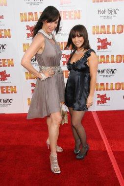 Tanya Newbould and Danielle Harris