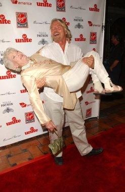 Richard Branson and Eve Branson
