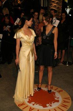 Lucy Liu and Natalie Portman