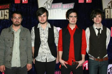 Panic At The Disco arriving at the 2007 MTV Video Music Awards. The Palms Hotel And Casino, Las Vegas, NV. 09-09-07