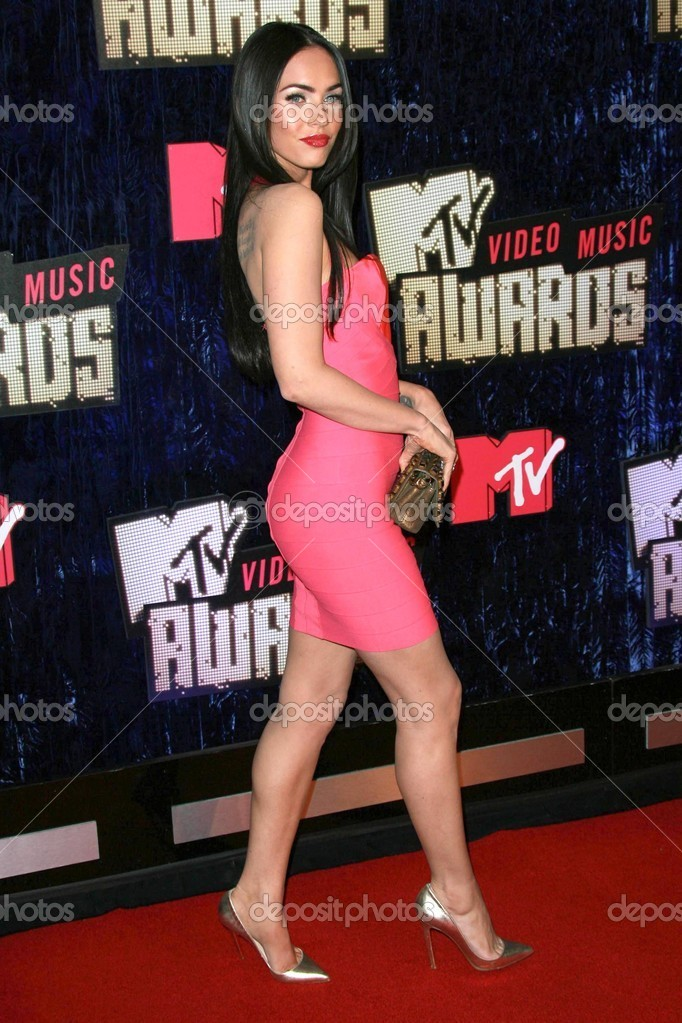 Megan Fox Arriving At The 2007 MTV Video Music Awards Palms Hotel And Casino