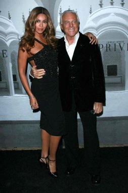 Beyonce Knowles, Giorgio Armani