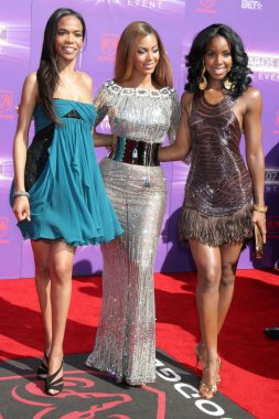 Michelle Williams with Beyonce Knowles and Kelly Rowland