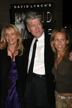Rosanna Arquette with David Lynch and Sheryl Crow