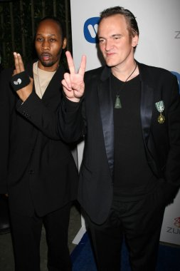 Rza and Quentin Tarantino