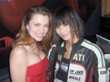Alicia Arden and Bai Ling