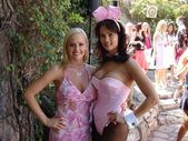 Katie Lohmann and Karen McDougal