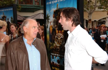 Jimmy Buffett and Luke Wilson