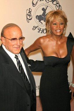Clive Davis and Whitney Houston