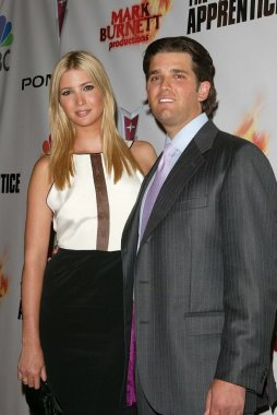 Ivanka Trump and Donald Trump Jr