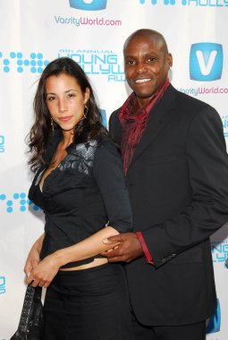 Carl Lewis and guest
