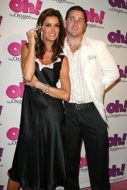 Janice Dickinson and Gerry Smith