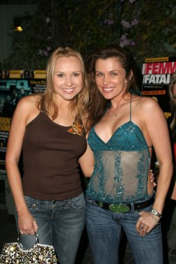 Alana Curry and Alicia Arden at the 32nd Annual Saturn Awards - After Party sponsored by Femme Fatale Magazine, Carl Strauss Brewery at Universal City Walk, Universal City, CA. 05-02-06