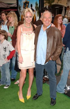 Brie Larson and Jimmy Buffett