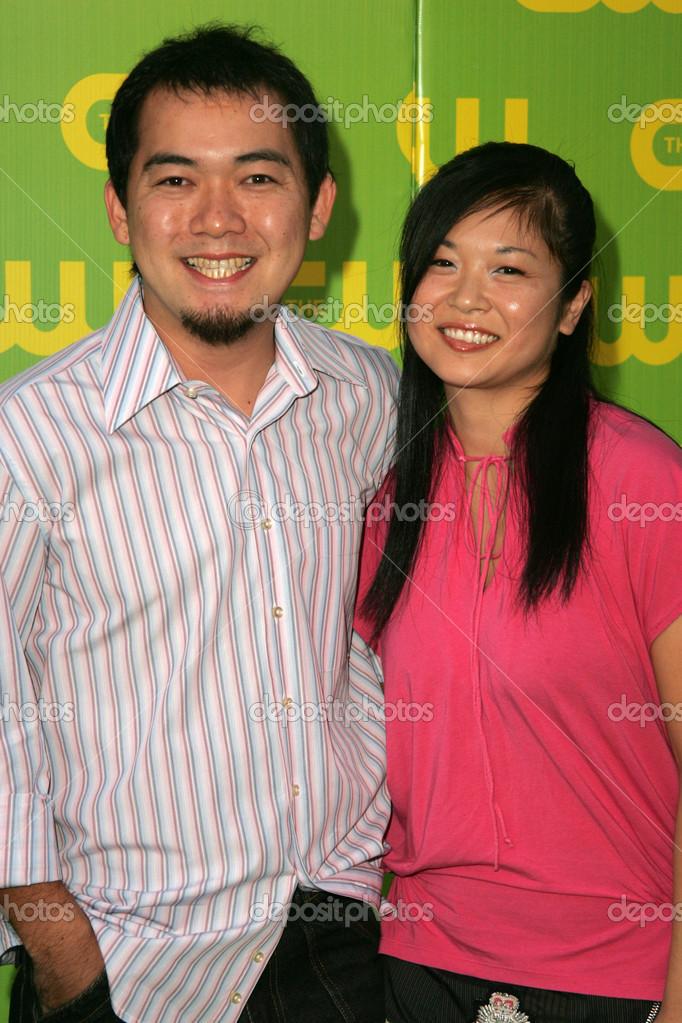 Keiko Agena Und Freund Bei Der Cw Starten Sie Partei Wb Wichtigsten