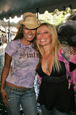 Traci Bingham and Gloria Kisel
