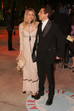 Aimee Mann and Michael Penn at 2006 Vanity Fair Oscar Party. Mortons, West Hollywood, CA. 03-05-06