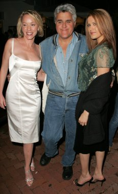 Anne-Marie Mogg with Jay Leno and Jenny McShane