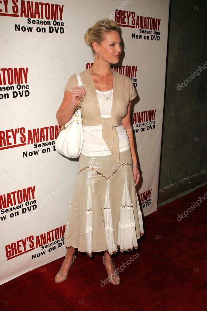 katherine heigl en el dvd de lanzamiento evento para anatomía grises ...