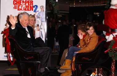 Steve Martin with Bonnie Hunt and Alyson Stoner
