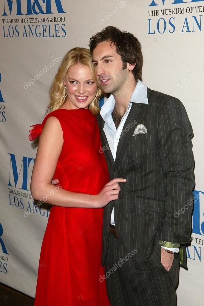 katherine heigl y josh kelley en la 23 william s. paley televisión ...