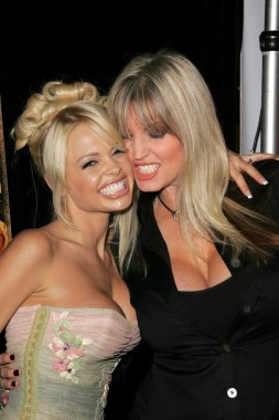 Jesse Jane and Janine Lindemulder at the Premiere of Digital Playground's