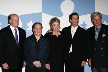Bob Wright, Paul Simon, Suzanne Wright, Jerry Seinfeld, Tom Brokaw