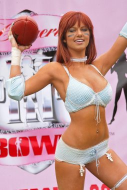 Alexandra Sullivan Lingerie Bowl III Kick-Off May 16, 2005, Los Angeles, Calif, United States