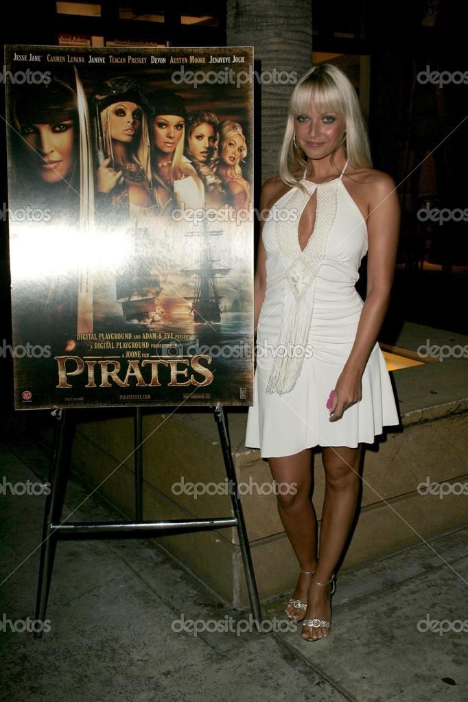 Jana Cova Na Premierze Digital Playground Piratow Egipskich Teatr Hollywood Ca  Zdjecie Od S_bukley