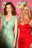 Marcia Cross and Nicolette Sheridan