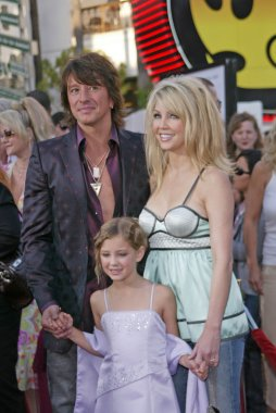 Richie Sambora, Heather Locklear and Ava Elizabeth Locklear