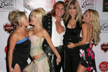 Austin Moore, Jesse Jane, Janine Lindemulder, Carmen Luvana, Evan Stone at the Premiere of Digital Playgrounds