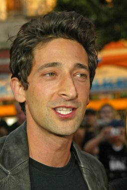 Adrien Brody at the War of the Worlds Los Angeles Premiere, Chinese Theater, Hollywood, CA 06-27-05