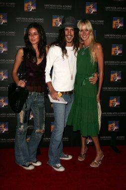 Caroline D'Amore, Cisco Adler and Kim Stewart