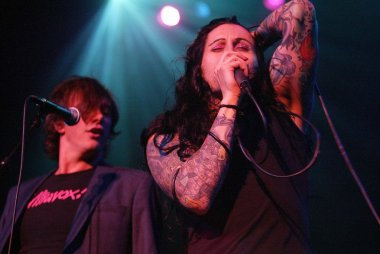 Donovan Leitch and Davey Havok
