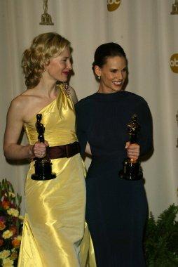 Cate Blanchett and Hilary Swank