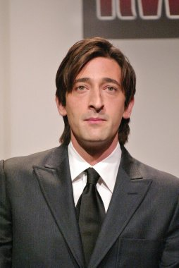 Adrien Brody at the Nominations Announced for the 77th Annual Academy Awards, Academy of Motion Picture Arts and Sciences, Beverly Hills, CA 01-25-05