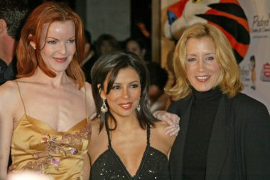 Marcia Cross, Eva Longoria and Felicity Huffman