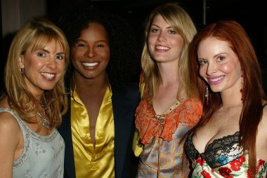Julia Verdin, Damone Roberts, Meredith Ostrom and Phoebe Price