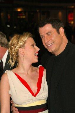 Scarlett Johansson and John Travolta at