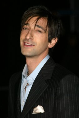 Adrien Brody at the The Jacket Los Angles Premiere , Pacific ArcLight Theaters, Hollywood, CA 02-28-05