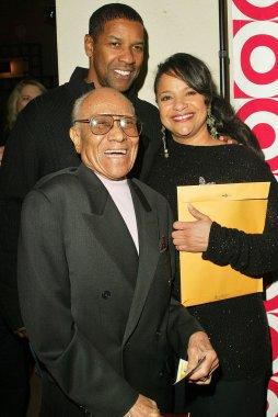 Denzel Washington, Fayard Nicholas and Debbie Allen