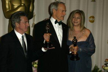 Barbra Streisand, Clint Eastwood, Dustin Hoffman