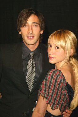 Adrien Brody and date at the 2005 Palm Springs International Film Festival Awards , Palm Springs Convention Center, Palm Springs, CA 01-08-05