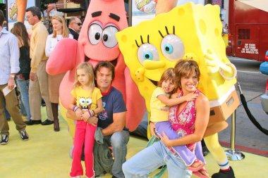 Harry Hamlin, Lisa Rinna and daughters