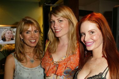 Julia Verdin, Meredith Ostrom and Phoebe Price