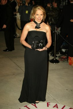 Katie Couric at the 2005 Vanity Fair Oscar Party, Mortons, West Hollywood, CA 02-27-05
