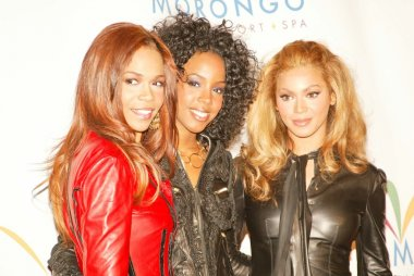 Michelle Williams, Kelly Rowland and Beyonce Knowles of Destiny's Child