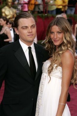 Leonardo Dicaprio and Gisele Bundchen