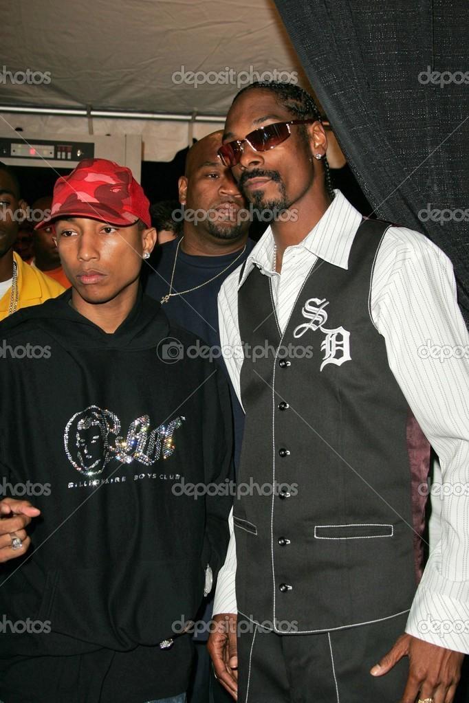 Pharrell Williams and Snoop Dogg – Stock Editorial Photo